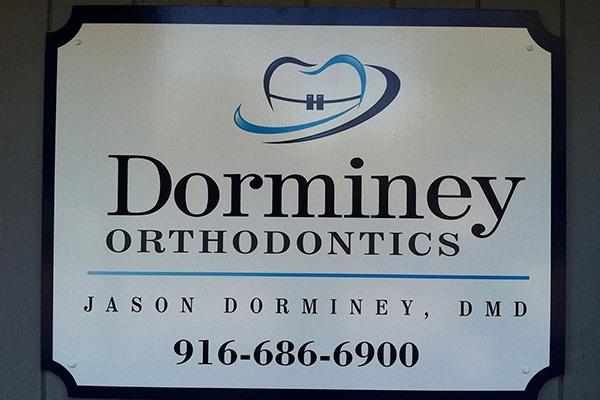 Office Logo Dorminey Orthodontics Elk Grove Sacramento CA