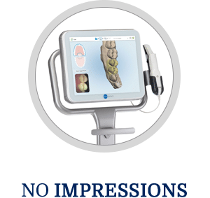 No Impressions Horizontal Button Hover Image Dorminey Orthodontics