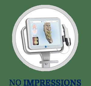 No Impressions Horizontal Button Dorminey Orthodontics