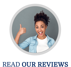 Horizontal Read Our Reviews Button Dorminey Orthodontics